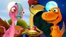 Развивающие мультики про Поезд Динозавров для детей. Путешествия к старым друзьям