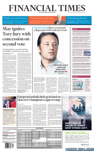 Financial Times UK - May 22, 2019