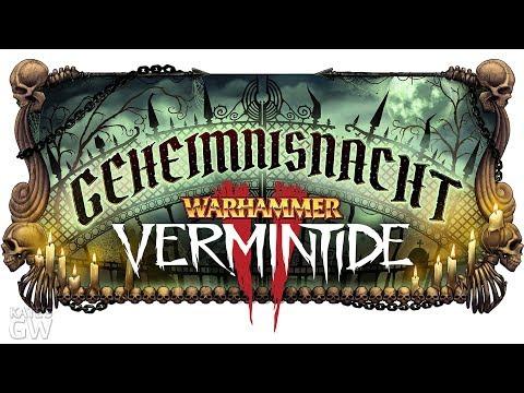 СТРИМ ➤Warhammer: Vermintide 2 - Winds of Magic - Geheimnisnacht - ИВЕНТ НА ХЕЛЛОУИН