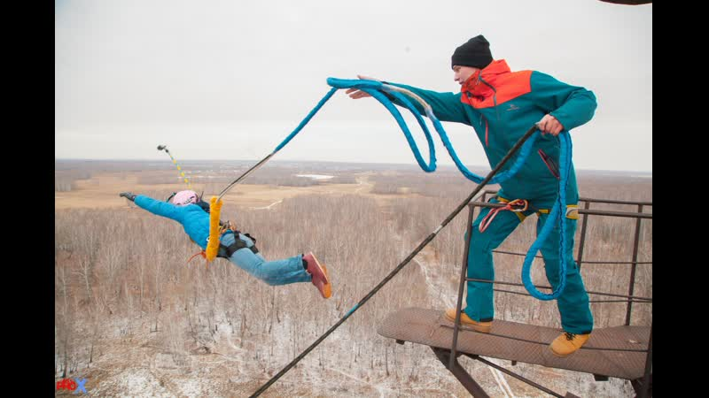 Maxim Gr. прыжок FreeFallProX команда ProX74 объект AT53 Chelyabinsk 2019 1 jump RopeJumping