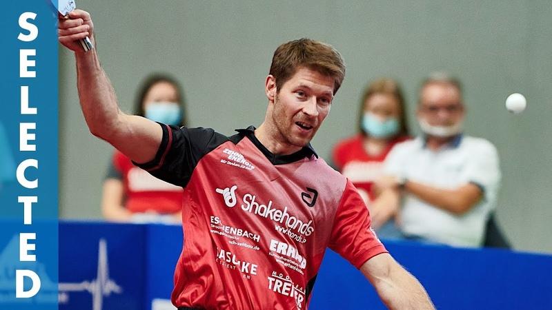 Bastian Steger vs Simon Gauzy TTBL Selected