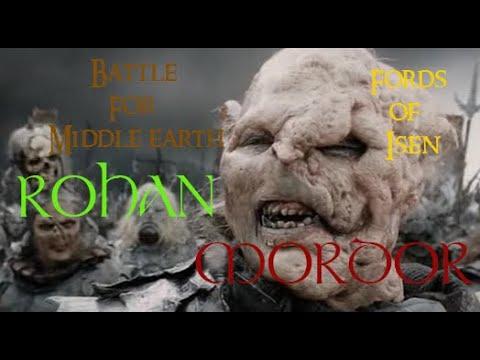 BFME: Rohan-Mordor Pov game