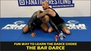 Fun Way To Learn The Darce Choke The Bar Darce by Jeff Glover