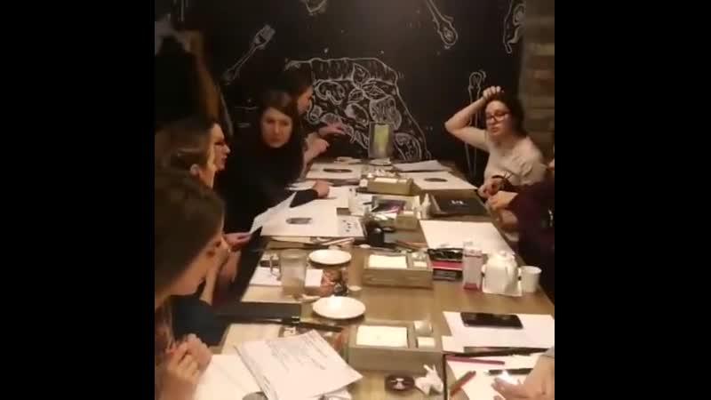13 октября в женском клубе «Lady Talk», состоялась Встреча с астрологом – «Составление карты желаний» с Anna OreO 🌸 . ⭐Прекрасна