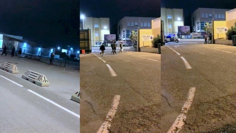 Varios MENA se escapan del 'Santa Amelia' y merodean por algunas zonas de Ceuta