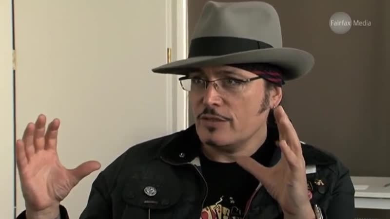 Adam Ant interview on The Age 14.02.2012
