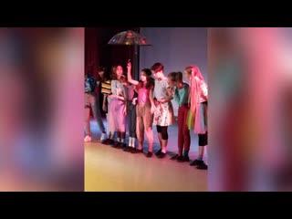 Начало театрального сезона. Детская школа искусств номер один, Россия, Ханты-Мансийский автономный округ, город Сургут.mp4