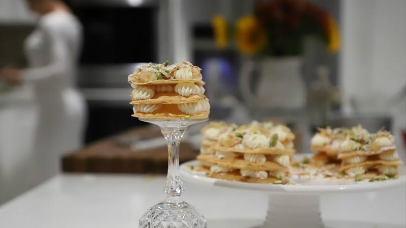 Թեթև ու Յուրահատուկ Տոնական Նապոլեոն Napoleon Pastry Heghine