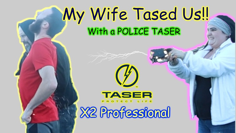TASER X2 Most powerful TASER We got tased Probe removal