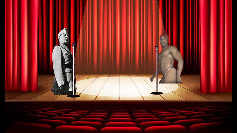 Бенито Муссолини и Рикардо Милос Решили спеть Итальянскому народу про то какие Греки Плохая нация