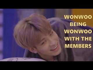 Wonwoo Being Wonwoo with The Members (SEVENTEEN)