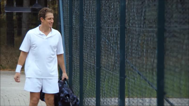 Городские шпионы 2013 сцена игры в теннис Дмитрий Фрид