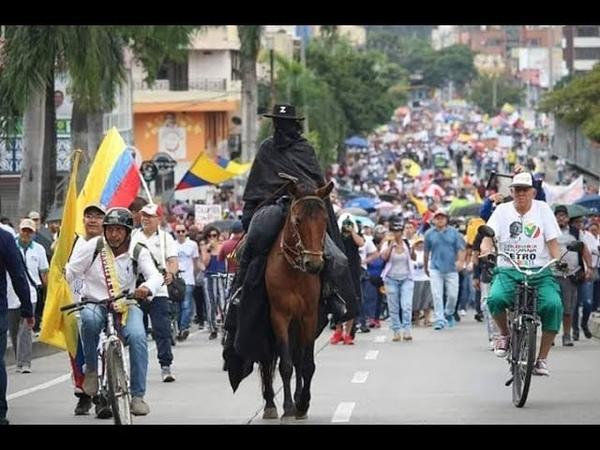 El Zorro apoyando el Paro Nacional 4D 😂