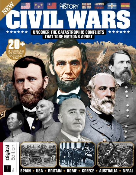 All About History Civil Wars Ed1 2019