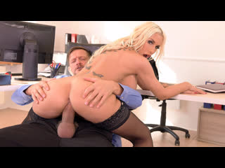 Kyra Hot - Big Tittied Babe Bent Over And Fucked At Work