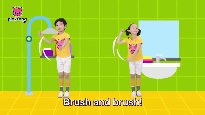 Brush Your Teeth - Dance Along - Pinkfong Songs for Children