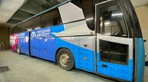 Бесплатные автобусные маршруты до аэропорта запускают в Липецке