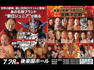 Pro Wrestling ZERO1 Fire Festival 2019 (2019.07.28) - День 14
