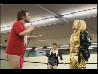 Danshoku Dino & Mayu Iwatani vs. Kota Ibushi & Yoshiko