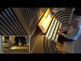541 J. S. Bach - Prelude and Fugue in G major, BWV 541 - Colin Andrews, organ