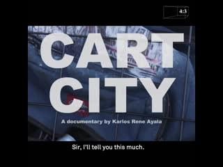 43 presents cart city