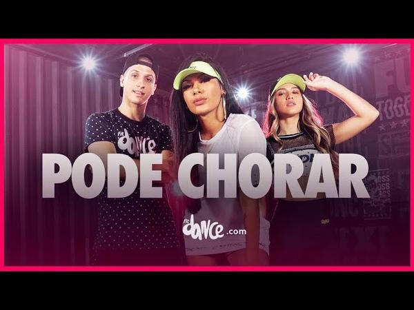 Pode Chorar Pocah FitDance TV Coreografia Oficial