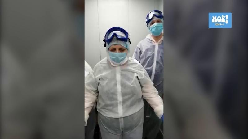 Лифтёры «коронавирусной» больницы из Воронежа обращаются к Владимиру Путину
