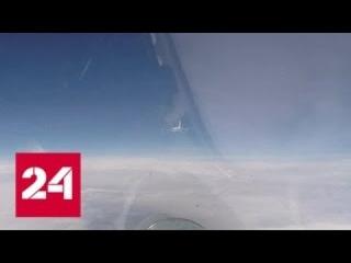 """На Балтике российский Су-27 """"перехватил"""" самолеты США и Швеции - Россия 24"""