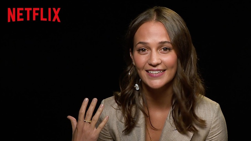Alicia Vikander On Learning Japanese for Earthquake Bird | Netflix