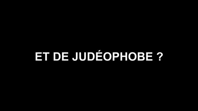 Faut il avoir peur d'être judéophobe