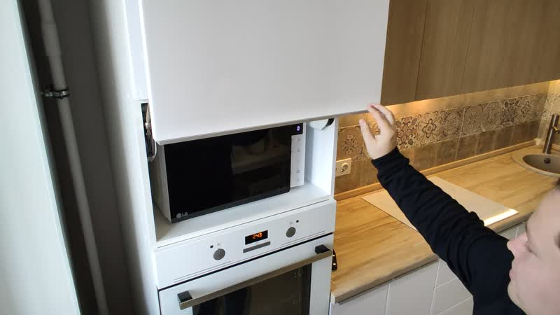 Функциональность кухни, фурнитура Blum