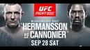 EA Sports UFC 3 Джек Херманссон - Джаред Кэннонир (Jack Hermansson - Jared Cannonier)