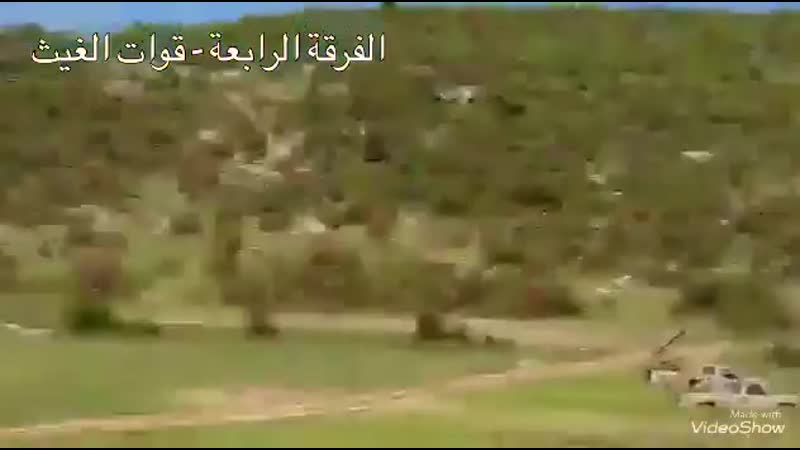 SYRIAN ARMYS 4TH DIVISION GOLAN MISSILES TARGETED TERRORIST HQS IN LATAKIA C_⁄S