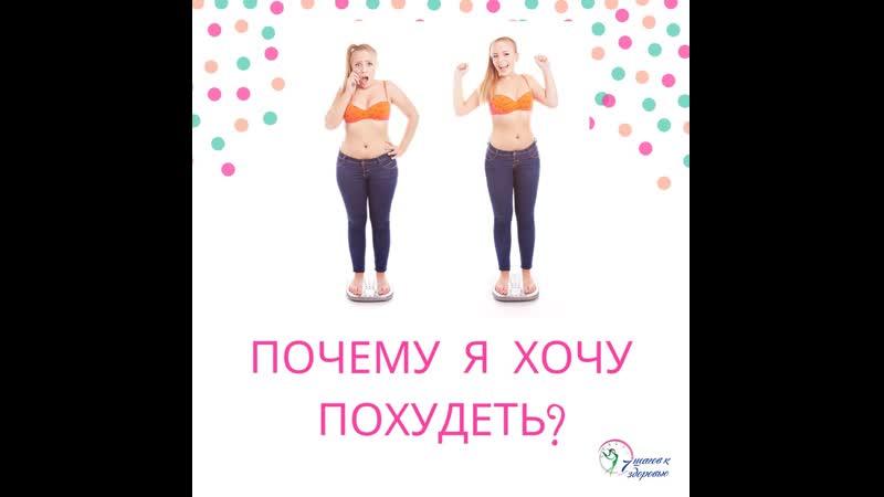 Почему я хочу похудеть
