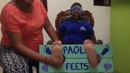 Preview Gaby tickle experiment with her feet F F