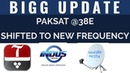 Indus News Aap News Full HD Channels shifted to new frequency on Paksat@38e Pak Dth