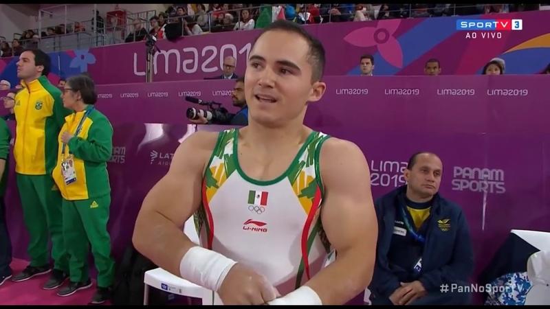 Панамериканские игры 2019 Спортивная гимнастика Женщины брусья Мужчины кольца