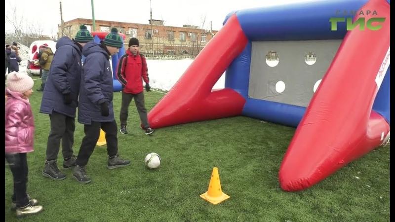 Спорт для всех. Дети с ОВЗ приняли участие в городском спортивном празднике