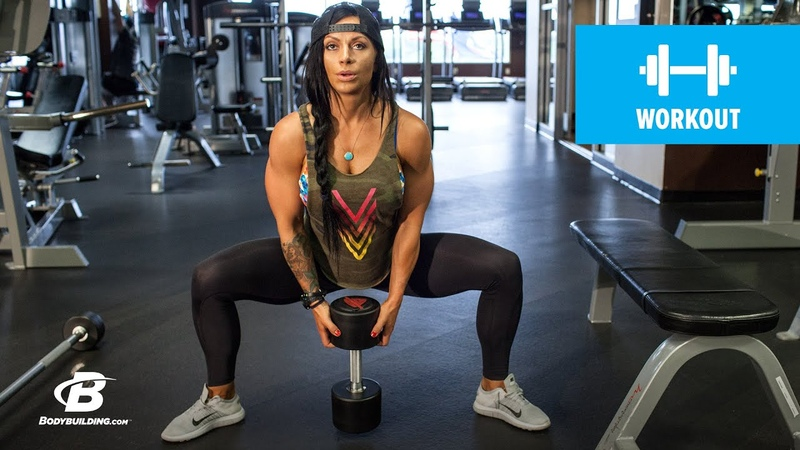Ashley Horners Stronger-Legs Workout - Bodybuilding.com