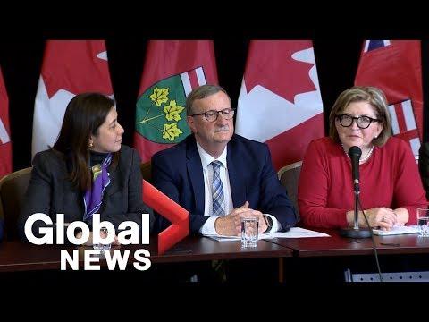 Coronavirus outbreak Presumptive case of virus confirmed in Toronto