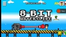 Короткий обзор игры 8 Bit waterslide