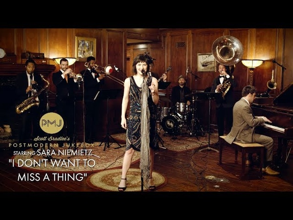 I Dont Want To Miss A Thing - Aerosmith (1920s Brass Band Cover) ft. Sara Niemietz