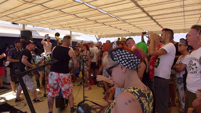 Epileptic Hillbillys - Frozen @ 24th Psychobilly Meeting, Psycho Boat Tour, 09.07.2016