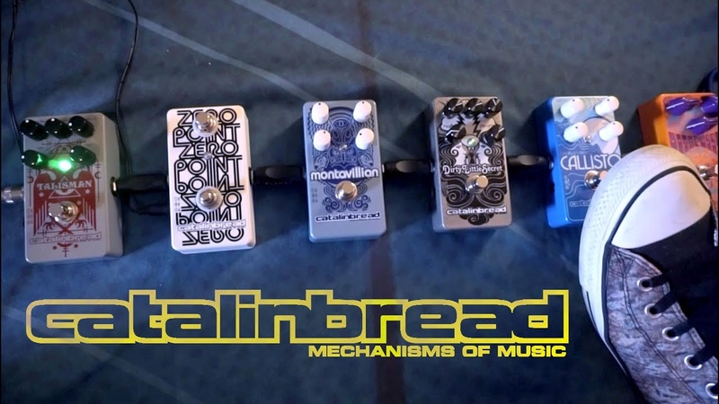Perseus Sub Octave Fuzz Stack Experiement with Catalinbread