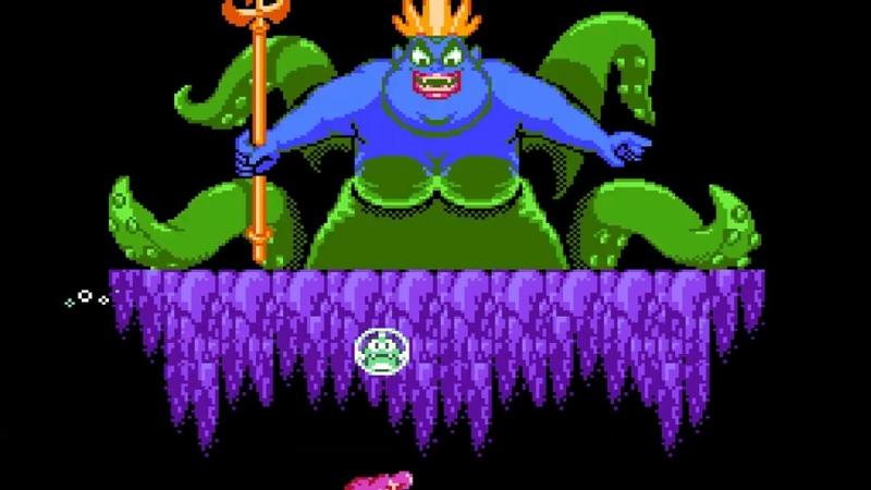 Disney's The Little Mermaid NES Прохождение