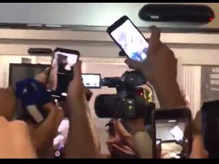 Фанаты Интера встретили Лукаку в Милане