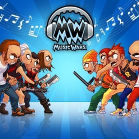 Music Wars: Битва музыкальных кланов RPG