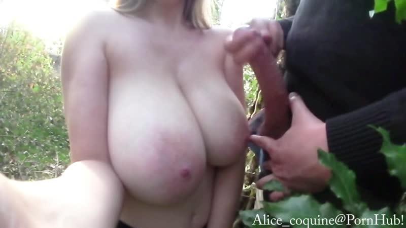 Big Tits Public Blowjob Cash