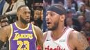 Los Angeles Lakers vs Portland Trail Blazers 2019 NBA Season