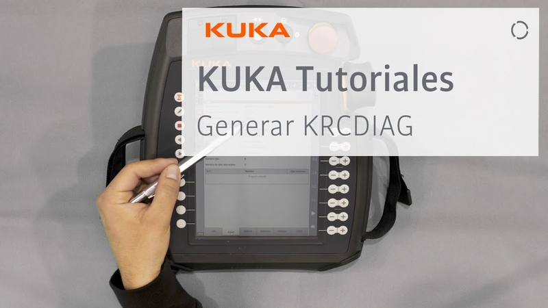 Generate KRCDIAG KUKA TUTORIAL